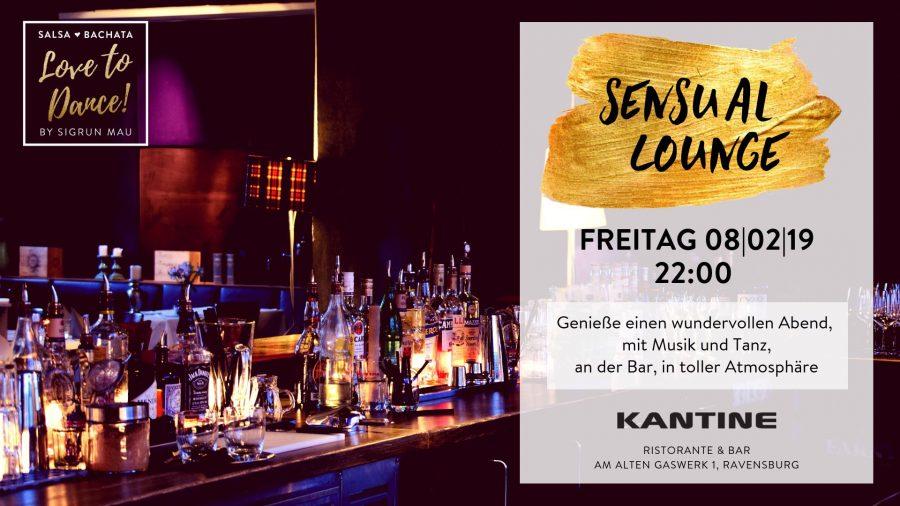 Sensual Lounge – 08.02.2019 ab 22:00 Uhr